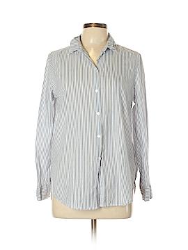 Dividends Long Sleeve Button-Down Shirt Size 8