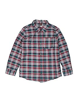 Tea Long Sleeve Button-Down Shirt Size 12