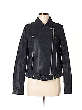 Sugar Lips Faux Leather Jacket Size M