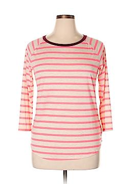 Soft Surroundings 3/4 Sleeve T-Shirt Size L