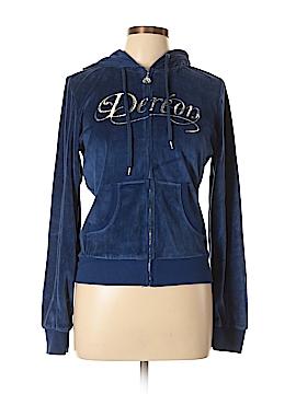 Dereon Zip Up Hoodie Size L