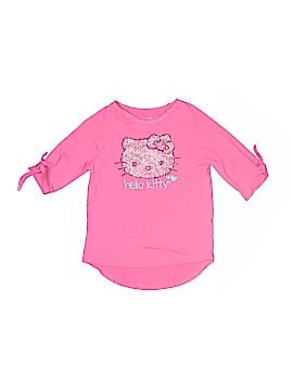 Hello Kitty 3/4 Sleeve T-Shirt Size 6