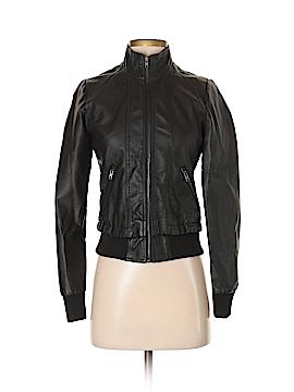XXI Faux Leather Jacket Size S