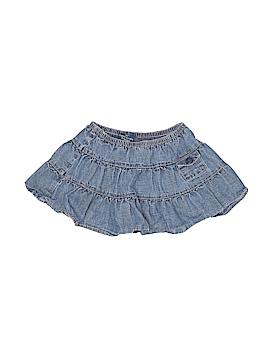 Faded Glory Denim Skirt Size 4