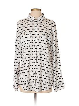 Karl Lagerfeld Long Sleeve Blouse Size M