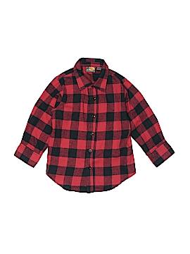 Bass Pro Shops Long Sleeve Button-Down Shirt Size S (Kids)