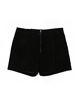 Blank NYC Leather Shorts 29 Waist
