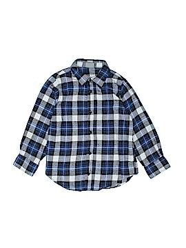 Bass Pro Shops Long Sleeve Button-Down Shirt Size L (Kids)