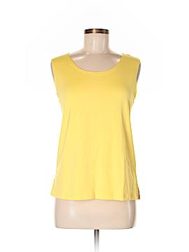 Susan Graver Sleeveless Blouse Size M