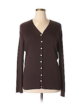 Rena Rowan Silk Cardigan Size 3X (Plus)