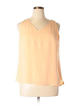 Tommy Bahama Sleeveless Silk Top Size XL