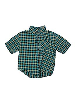 Shaun White Short Sleeve Button-Down Shirt Size 4
