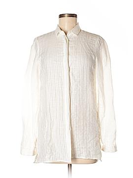Massimo Dutti Long Sleeve Button-Down Shirt Size 4