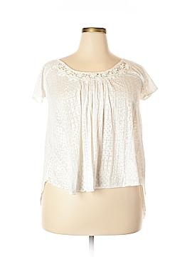 Jessica Simpson Short Sleeve Blouse Size L