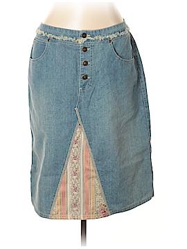 Gloria Vanderbilt Denim Skirt Size 12