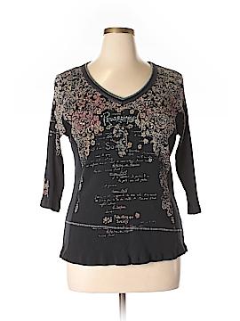 Vanilla Sugar Long Sleeve T-Shirt Size 2X (Plus)