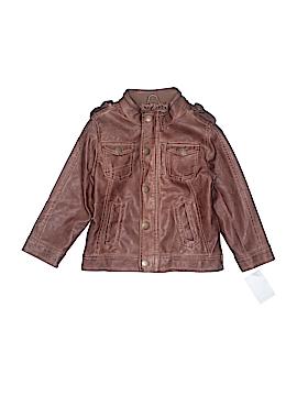Urban Republic Faux Leather Jacket Size 4T