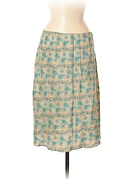 Gap Silk Skirt Size M