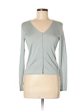 Linda Allard Ellen Tracy Silk Cardigan Size M
