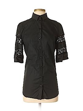 Philosophy Short Sleeve Button-Down Shirt Size 4