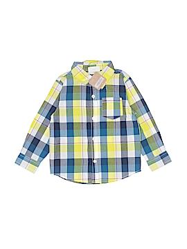 Crazy 8 Long Sleeve Button-Down Shirt Size 2T