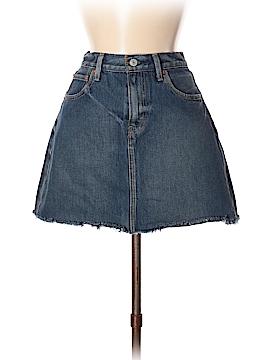 Levi Strauss Signature Denim Skirt 27 Waist