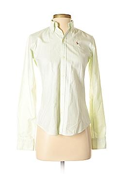 Ralph Lauren Blue Label Long Sleeve Button-Down Shirt Size 0