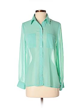 Michelle Long Sleeve Blouse Size S