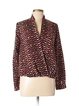 Barneys New York Long Sleeve Blouse Size 8