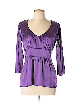 ETRO 3/4 Sleeve Silk Top Size 46 (IT)