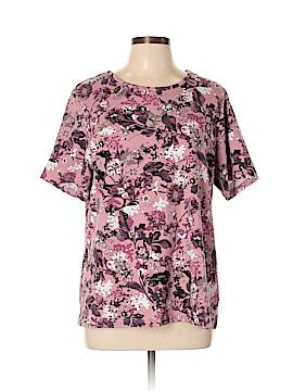 D&Co. Short Sleeve Top Size L