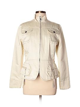 Banana Republic Factory Store Women Faux Leather Jacket Size M