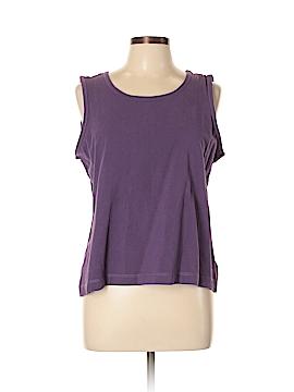 D&Co. Sleeveless T-Shirt Size L