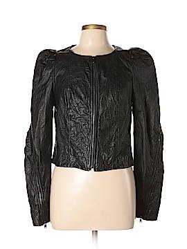 RACHEL Rachel Roy Leather Jacket Size M