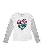 Nike Girls Active T-Shirt Size M (Kids)