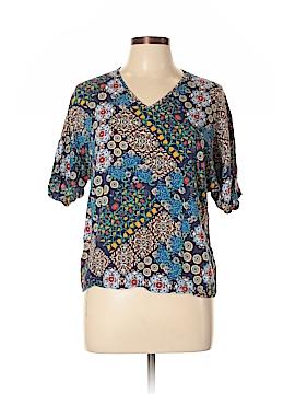 Renee C. Short Sleeve Blouse Size L