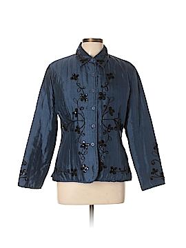 Carole Little Silk Blazer Size L