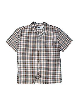 Arizona Jean Company Short Sleeve Button-Down Shirt Size 10 - 12