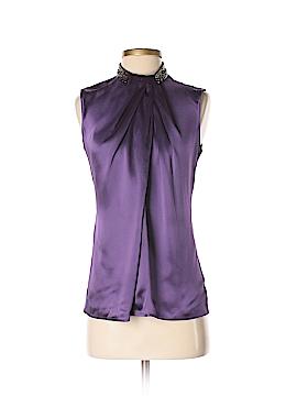 ETRO Sleeveless Silk Top Size 40 (IT)