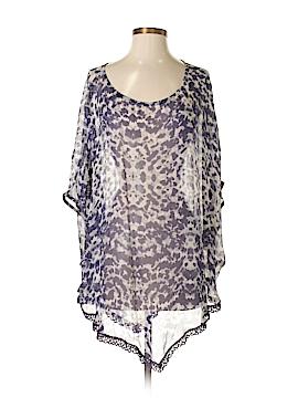Gypsy 05 Short Sleeve Silk Top Size S
