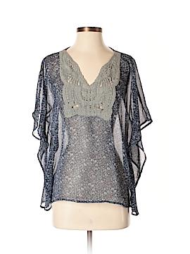 Girl Krazy Short Sleeve Blouse Size S