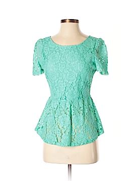 WD.NY Short Sleeve Top Size S