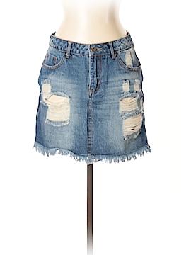 Timing Denim Skirt Size S