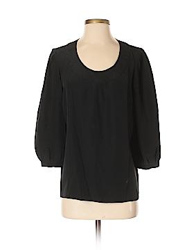 Tibi 3/4 Sleeve Silk Top Size 2