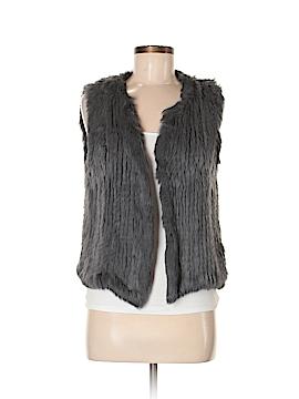 525 America Faux Fur Vest Size M