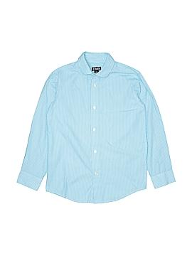 Chaps Long Sleeve Button-Down Shirt Size 10 - 12