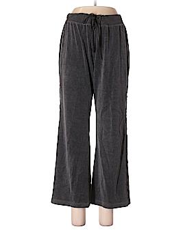SJBactive by St. John's Bay Velour Pants Size L