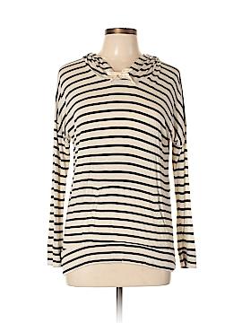 Pink Rose Long Sleeve T-Shirt Size L