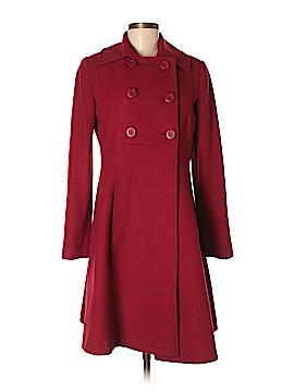 Via Wool Coat Size 8