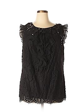 ECI Short Sleeve Blouse Size 20 (Plus)